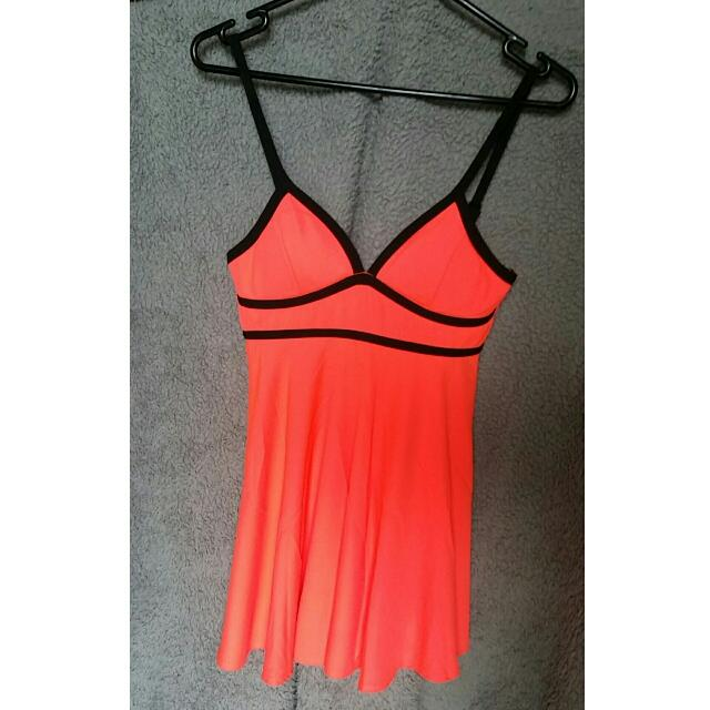 Mooloola Coral Dress