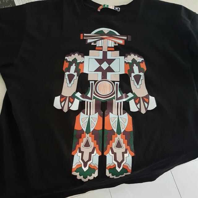 Msgm Robot Tshirt