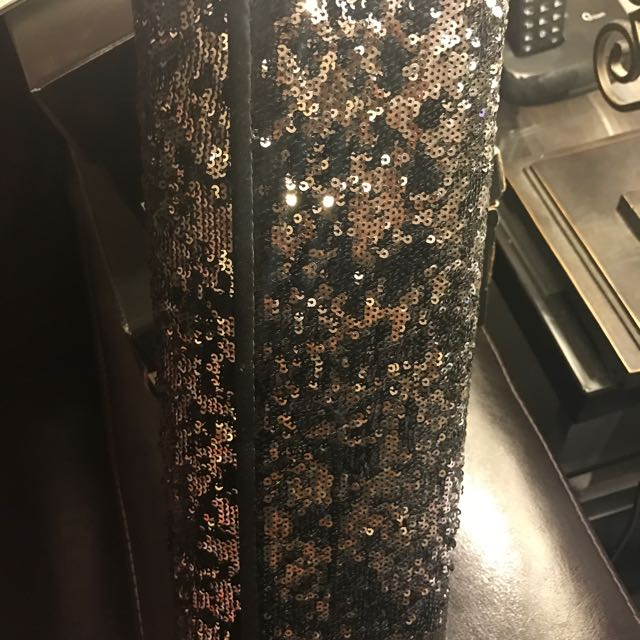 Nasty Gal Sparkly Clutch