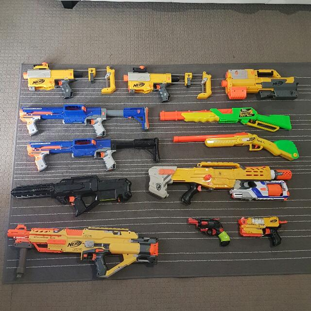 NERF GUN BUNDLE!!