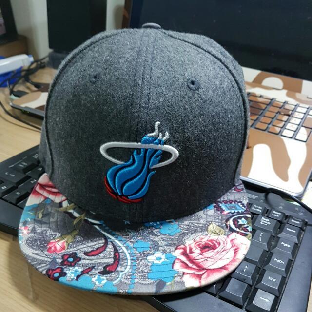 new era nba 熱火棒球帽