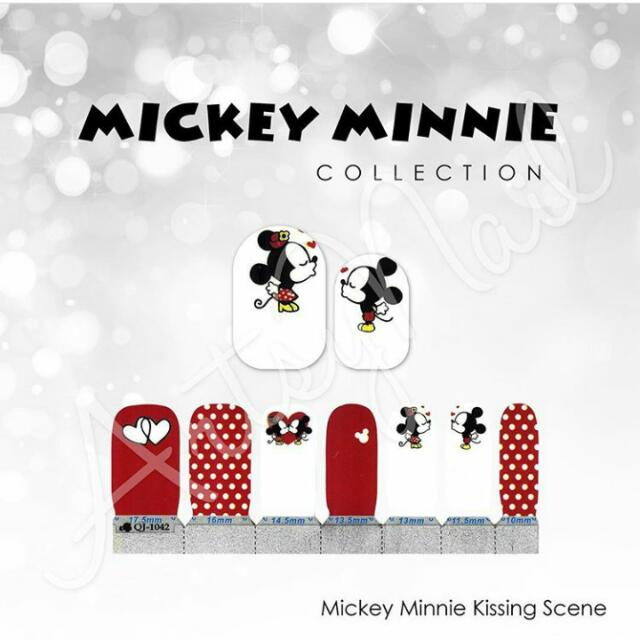 [new] Sticker Kuku Mickey Minnie