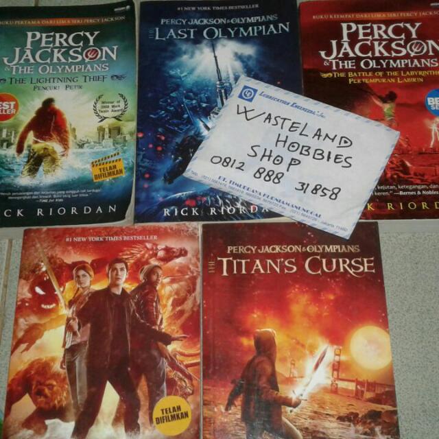 Novel Percy Jackson 1-5