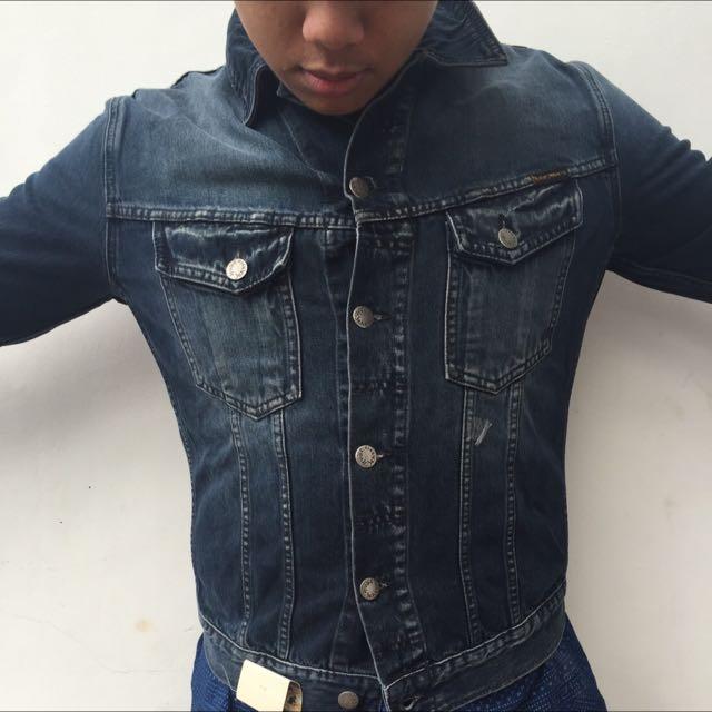 NUDE JEANS CO jaket jeans