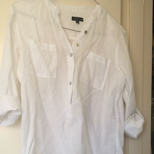 Picnic Linen Shirt Size Xs