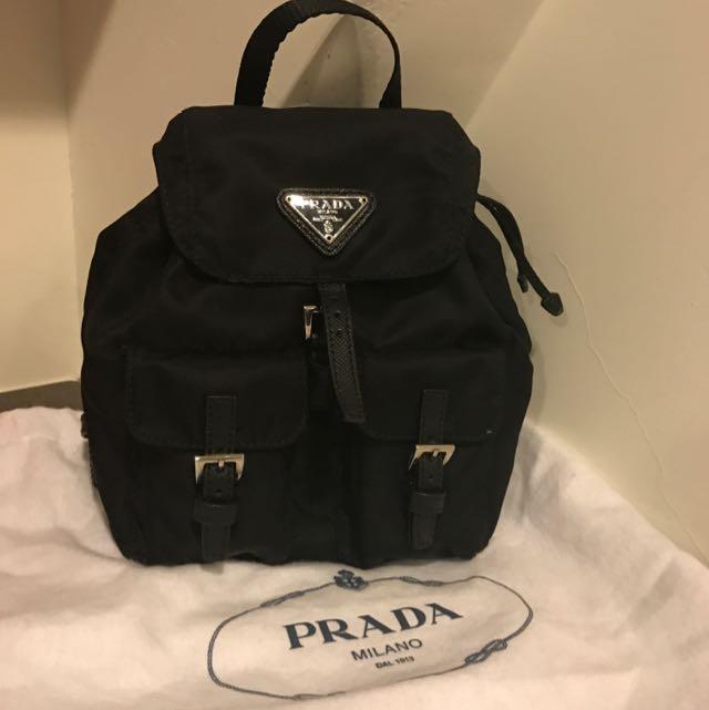 Prada Mini後背包