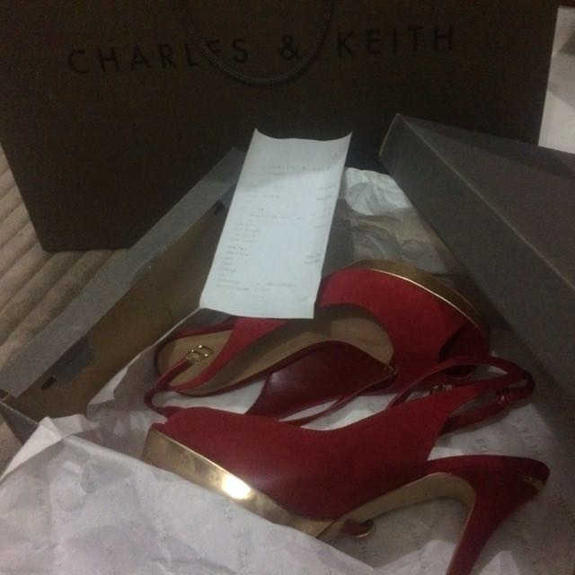 Preloved CK Shoes Worn Only Once! Size 35