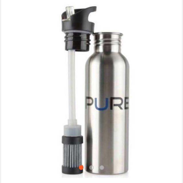 PURE不鏽鋼濾水壺含三顆濾芯