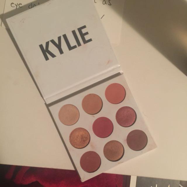 Real Kylie Jenner Burgundy Pallet