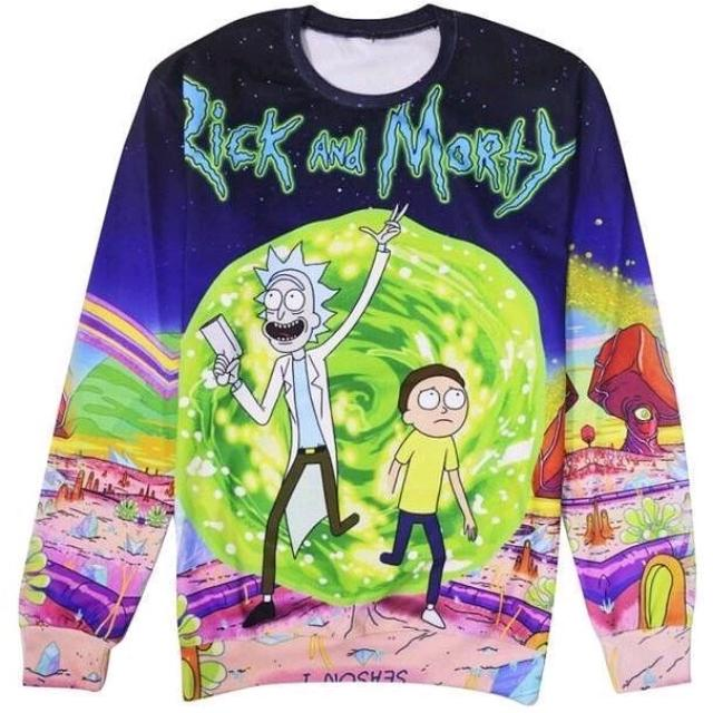 Rick And Morty Jumper