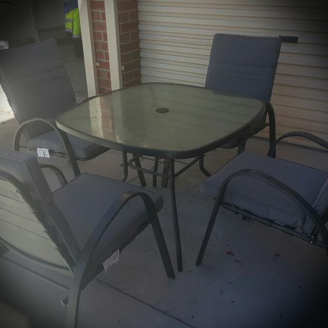 Ruby 5pcs Outdoor Dining Setting