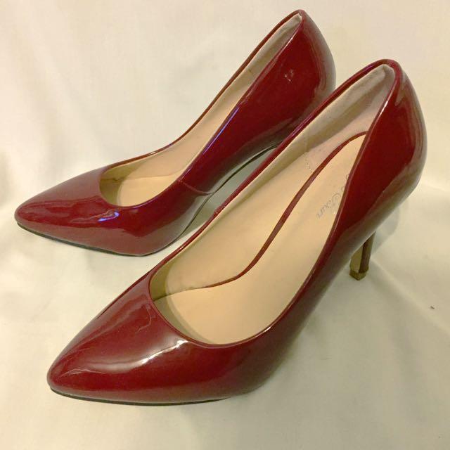 BNWOB Sergio Bari Heels - Size 7