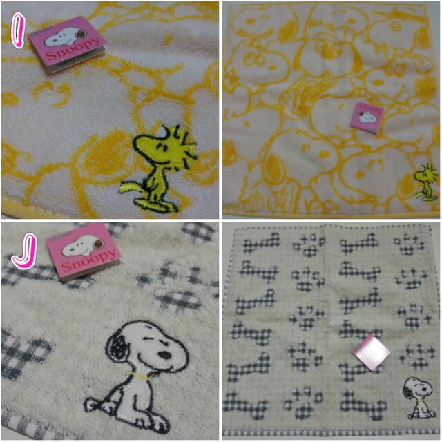 現貨日本Snoopy手帕方巾毛巾