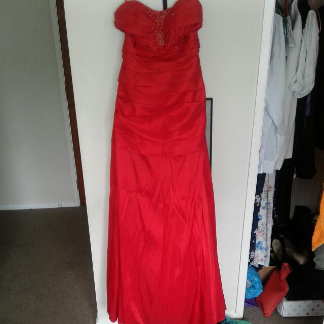 Stunning Red Ball Dress