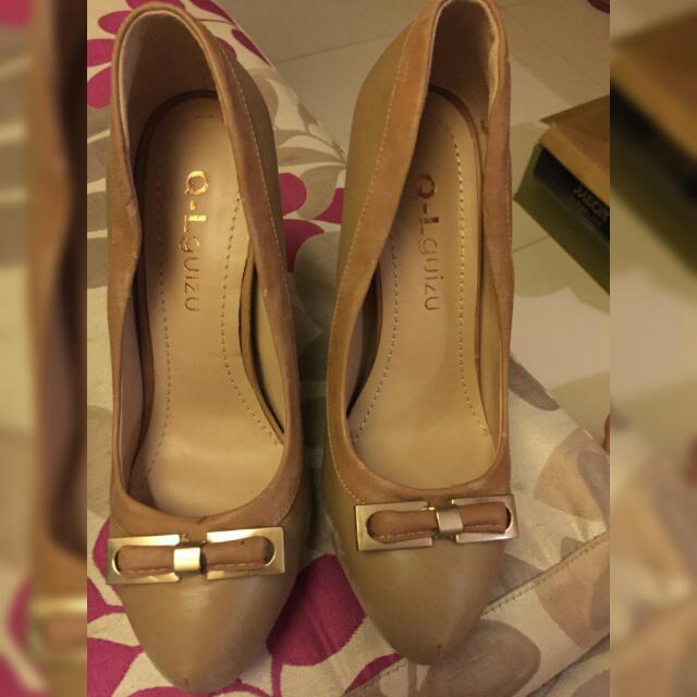 Tan Color Heels