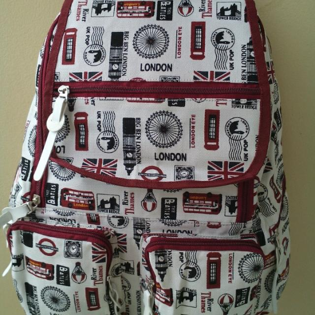 Tas Gendong Canvas London (NEW)