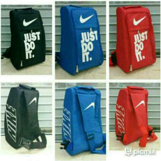 f74022280b Tas Sepatu Futsal Selempang Nike Just Do It