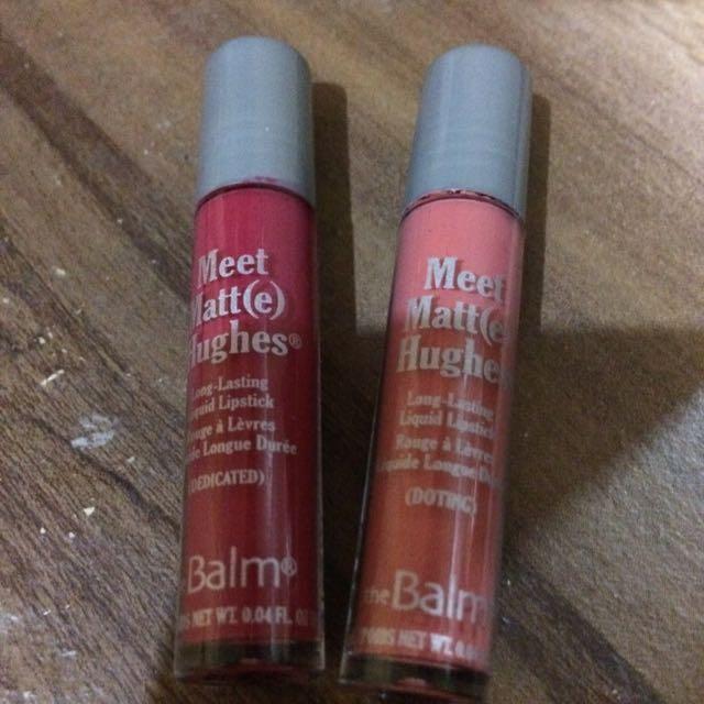The Balm Liquid Lipstick