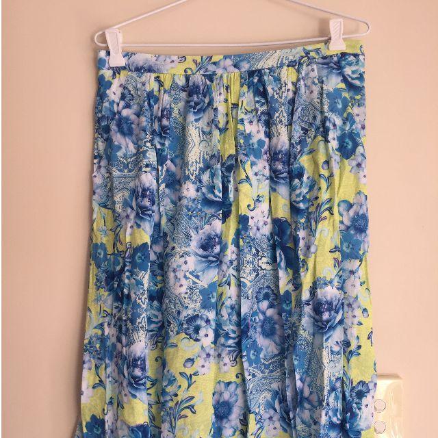 Tropical Forever New Skirt
