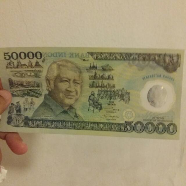 Uang Rupiah Lembaran Rp 50.000