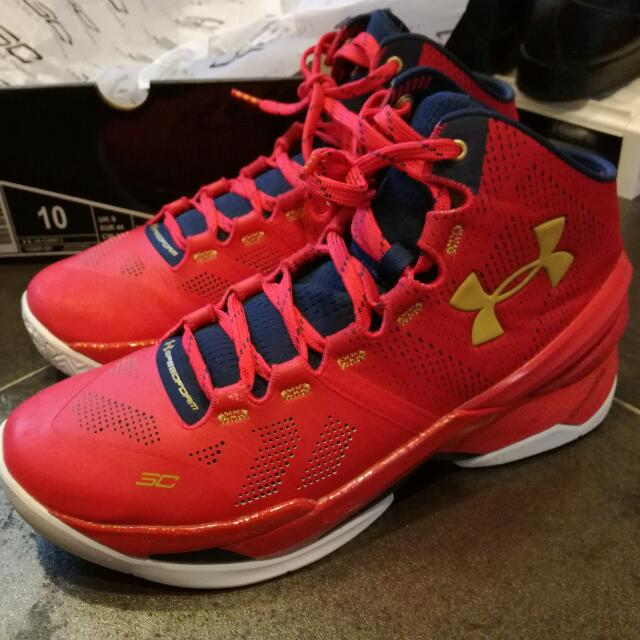 428e094ca1 UA Curry 2 'Floor General' US Size 10, Sports, Sports & Games ...
