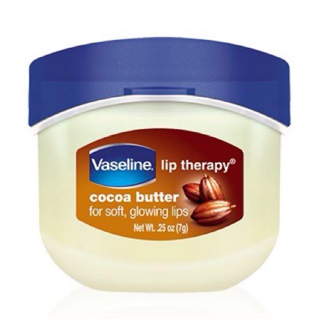 Vaseline Mini Lip Therapy Cocoa Butter Original