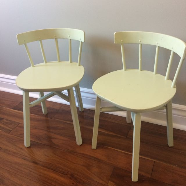 Vintage Children's Chairs