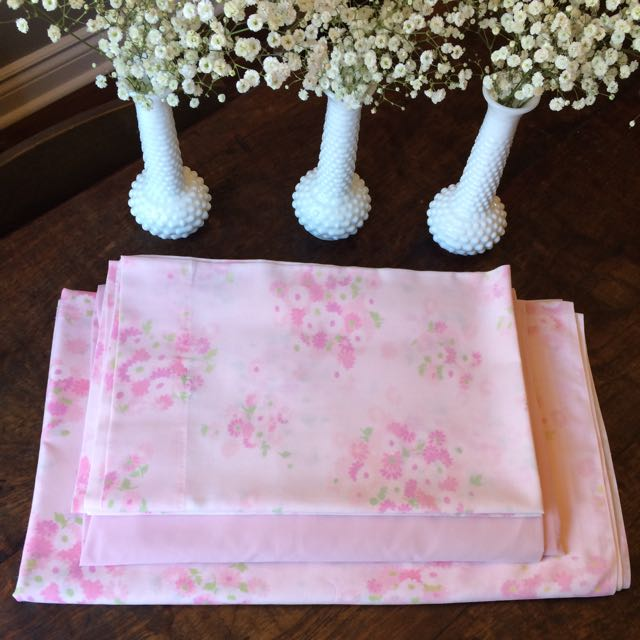 Vintage Double Bed Sheet Set