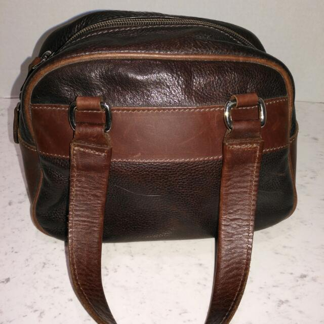 Vintage Roots Mini Duffle-Style Purse