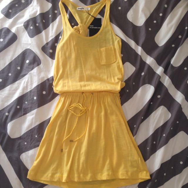 Yellow Beach Dress