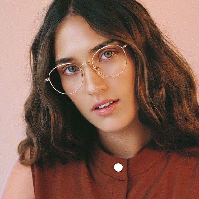 Zalora Classic Silver Specs