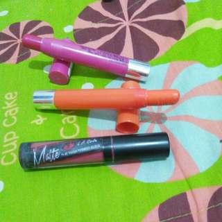 Lipstick Maybelline Dan Lip Cream LA Girl