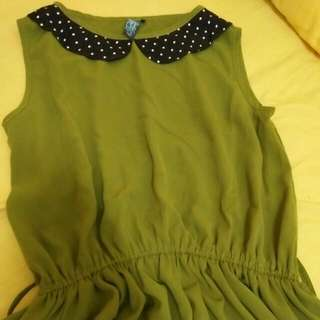 Dress Ijo Pretty Rown