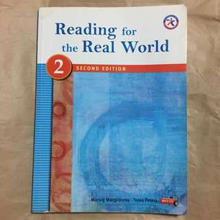Reading for the real world #我有課本要賣