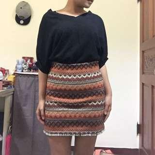 民族風窄裙