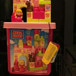 Mega Bloks Princess Castle