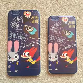 (new) Zootopia 6s and 6plus iPhone Case