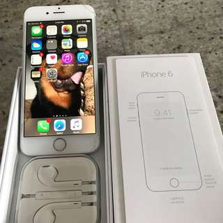 iPhone 6, Silver,