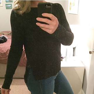 LOFT Speckled Sweater