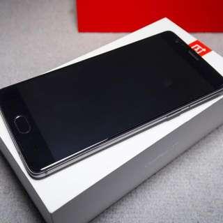 99%新 OnePlus 3T 6G Ram 64GB 國行 原裝PlayStore 灰色