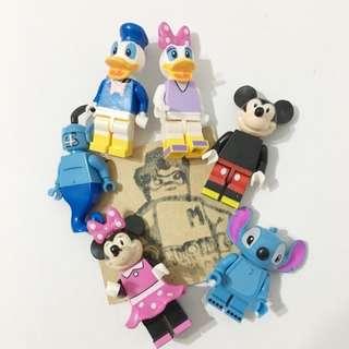 Miniman手作飾品 迪士尼積木人偶飾品