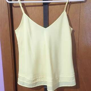 Talula Yellow Tank Top