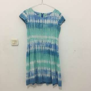 Batik Jumputan Dress