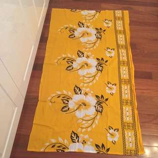 Yellow Beach Sarong