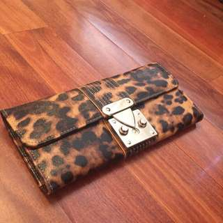 New Colette Accessories Leopard Print Wallet