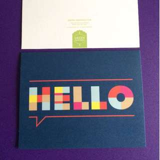 Designer Note cards