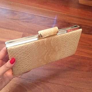 Temt Rose Gold Clutch/Wallet