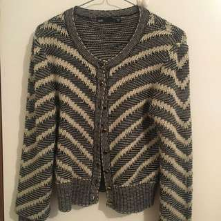 luxe knit tweed jacket