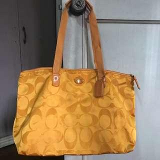 Coach Foldable Bag