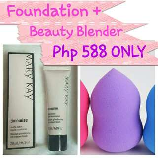 Timewise Matte Wear Liquid Foundation For Oily Skin By Mary Kay ONHAND